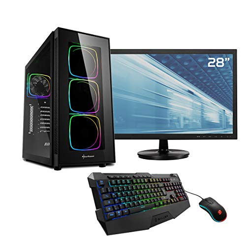Sedatech Pack PC Gaming Watercooling Intel i9-9900KF 8x 3.6Ghz, Geforce RTX 2080 8Gb, 32 Gb RAM DDR4, 1Tb SSD NVMe 970 Evo, 3Tb HDD, USB 3.1, Wifi, Bl
