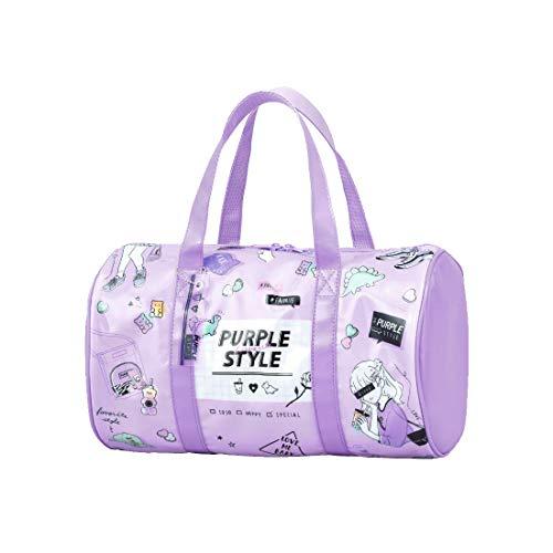 プールバッグ 女の子 小学生 おしゃれ ロール型 クリアバッグ ボストンバッグ 透けにくい スイムバッグ 通園 かわいい キッズ スイミング 通学
