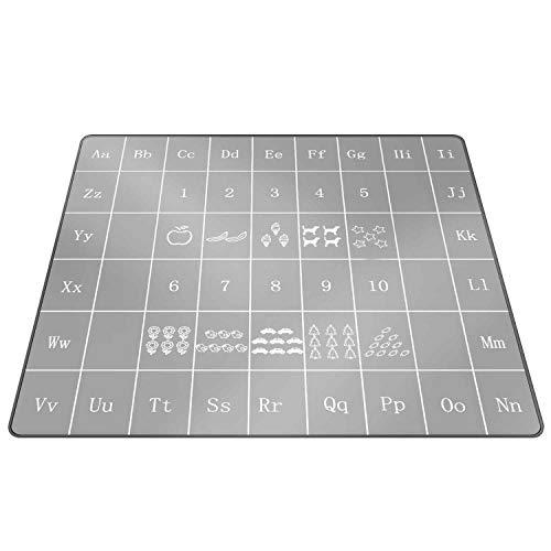ALWOA Splat Mat Under High Chair/Arts/Crafts AntiSlip Food Splash Spill Mess Mat Waterproof Washable Portable Picnic Mat Play Mat Art Mat Table Cloth
