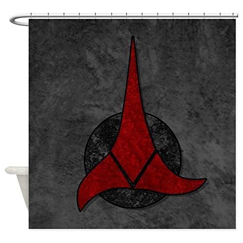 "Dongingp StarTrek Klingon Stone Decorative Fabric Shower Curtain (69""x70"")"