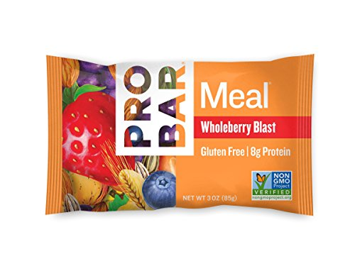 PROBAR - Meal Bar, Wholeberry Blast, Non-GMO, Gluten-Free, Certified...
