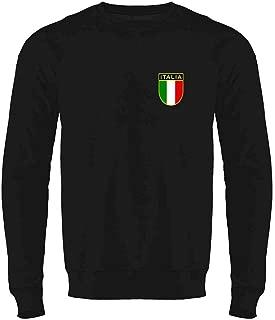 Italy Soccer Retro National Team Crewneck Sweatshirt for Men