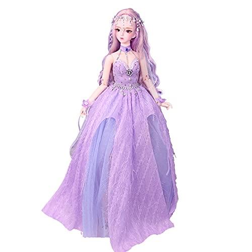 HuaBiao Bjd Doll 1/3 Sfera Meccanica Snodato Bambola con L'insieme Completo di Vestiti Cappotto Scarpe Capelli Pantaloni Accessori,Altezza 24in (Color : I)