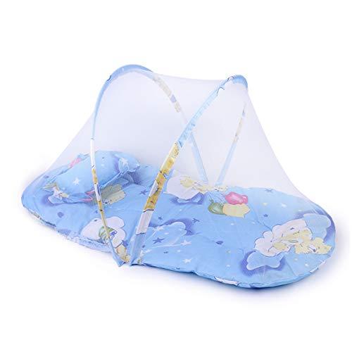 YANGM Baby Reistent Draagbare Baby Reizen Bed Reiswiegen Pop Up Opvouwbare Strand Tent Muggennet En Kussen, Bescherm Baby Van Valt En Bijt