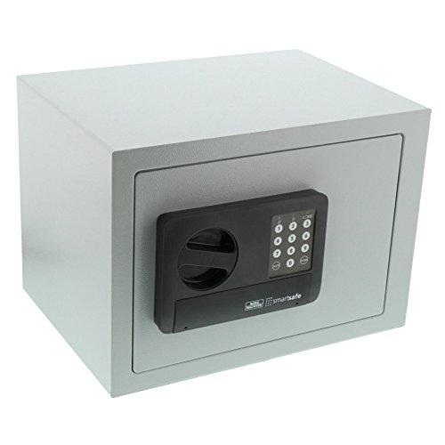 Burg-Wächter Möbeltresor mit Zahlenschloss, Smart Safe 20 E, Grau