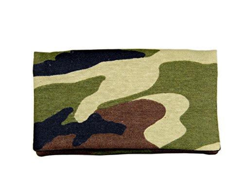 Plan B, Monedero, con Tarjetero Militar 15 x 9 cm, Verde Camuflaje