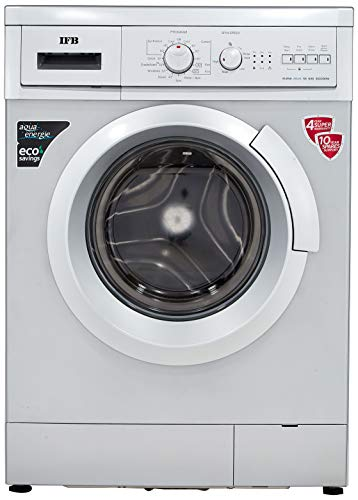 IFB 6 kg Fully-Automatic Front Loading Washing Machine (Elena Aqua SX , Silver, Inbuilt Heater, Aqua Energie water softener)