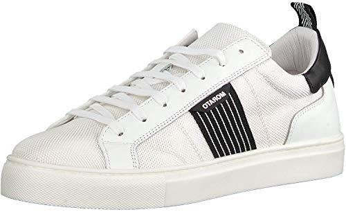 Bassa Zapatilla Hombre Color: 1000 Blanco Talla: 45