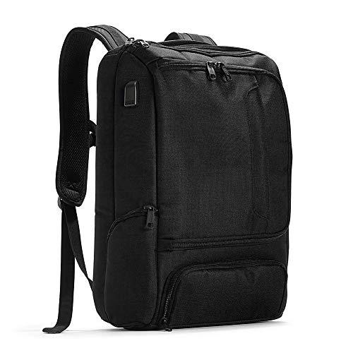 eBags Pro Slim USB Laptop Backpack (Black w/USB)