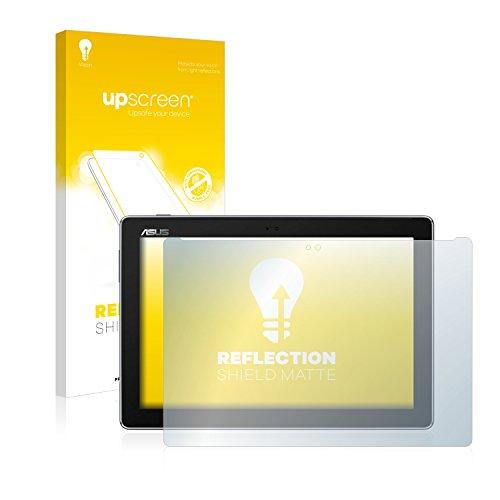 upscreen Entspiegelungs-Schutzfolie kompatibel mit Asus ZenPad 10 Z301MFL – Anti-Reflex Bildschirmschutz-Folie Matt