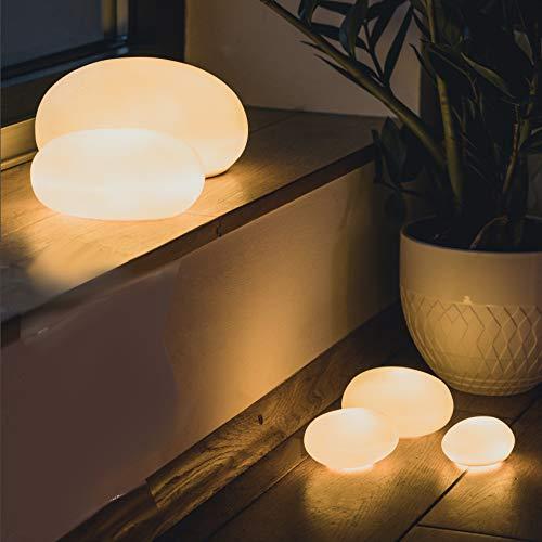 Räder LED Lichtkieselstein Set 3 Stück