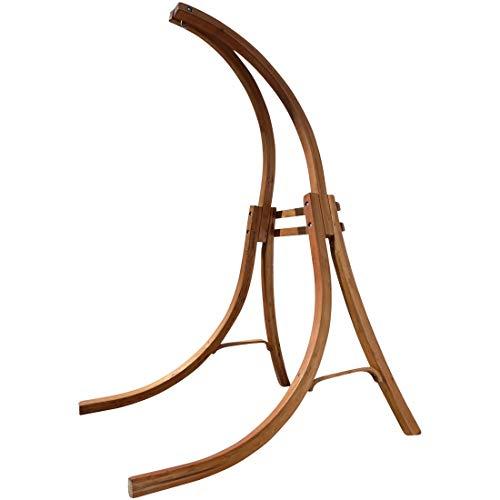 ASS Hängesesselgestell aus Holz Lärche für Hängesessel (nur Gestell ohne Sessel), Modell:4 Beine