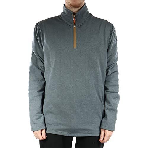 Icepeak Cremallera para hombre Chris 257836683I (380 gris azul, XL)