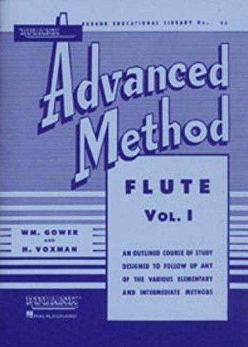 Rubank Advanced Method: Flute, Vol. 1 (Rubank Educational Library, No. 95)