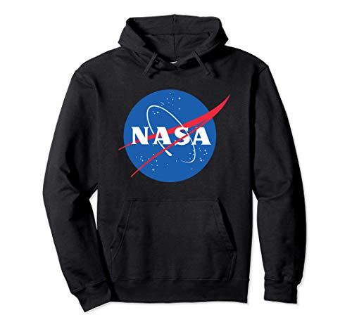 Official NASA Logo Felpa con Cappuccio