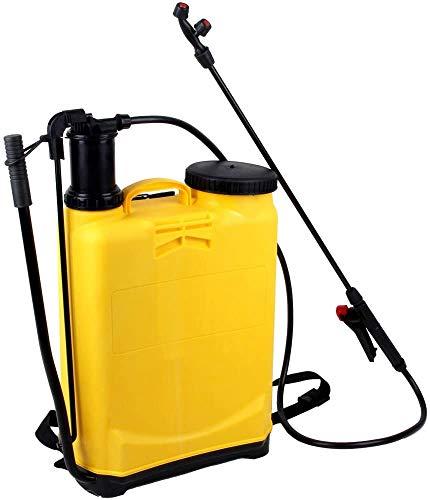 Drucksprüher Pflanzensprüher Unkraut Sprühgerät 16L Gartenspritze Rückenspritze Rückenspritze Pump