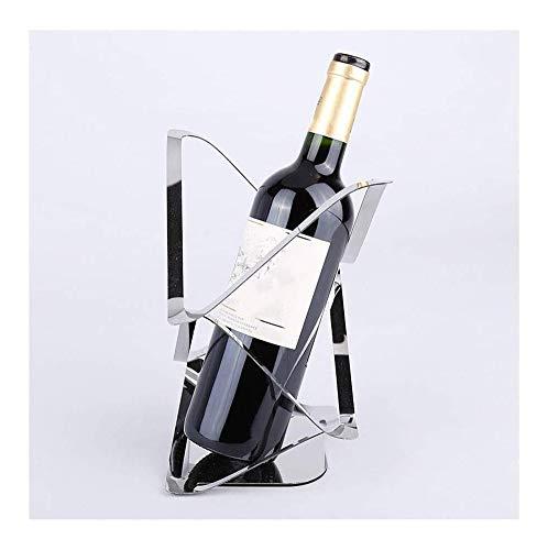 HJXSXHZ366 estante de vino montado en la pared Creativo europeo vino estante pequeño vino vino vitrina gabinete en casa regalo adornos hechos a mano regalos pequeño estante de vino