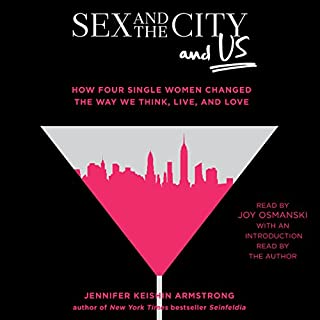 Sex and the City and Us audiobook cover art