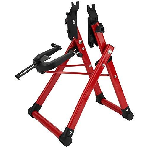 ROMACK Soporte de aleación de Aluminio para Ruedas de Bicicleta, Herramienta de reparación de Bicicletas, Regalo para Ciclistas para Bicicletas de montaña, Bicicletas de Carretera, Bicicleta