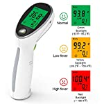 DLMYZ Thermometer Forehead and Ear Thermometer Digital Medical Infrared Thermometer Instant Accurate Reading for Kids Adults Body Surface and Room
