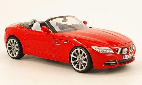 BMW Z4 Roadster, rot, Modellauto, Fertigmodell, Mondo Motors 1:24