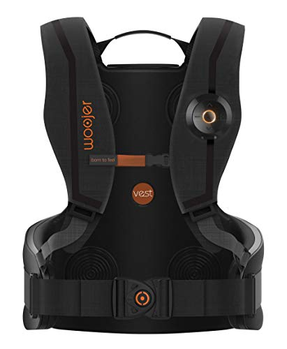Woojer Vest Pro: Powerful location-specific haptic vest with a built-in 7.1 surround card that delivers the ultimate, full 360° immersive experience for VR, Gaming, Music & Movies