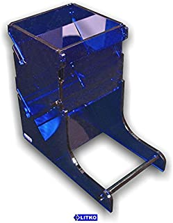 LITKO Dice Tower, Translucent Blue