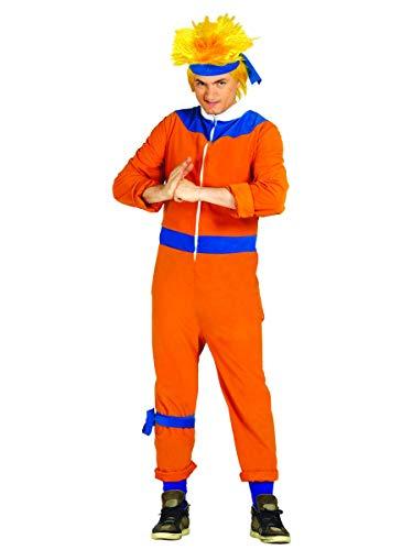 Inconnu Déguisement Maitre Ninja Orange Adulte