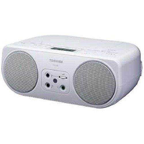 東芝 CDラジオ(ホワイト)TOSHIBA TY-C200-W