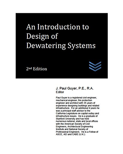 An Introduction to Design of Dewatering Systems
