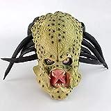 Song Disfraz De Halloween Festivales Rave Mascaradas Carnaval Película Alien Predator Cosplay Máscara Disfraz Casco Accesorios