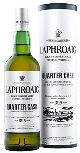 6. Whisky escocés ahumado Laphroaig Quarter Cask Single Malt