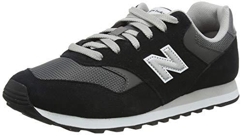 New Balance Sneaker Herren ML574SM2 Black/Velocity/Red Schwarz, Schuhgröße:42