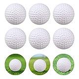 Kofull Pelotas de Golf plástico para práctica de balón de Pelota Hueca para Interior de Golf, Patio, niños, Juego de Bolas de Billar, Paquete de 24 Unidades