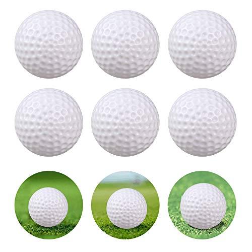 Kunststoffbälle für Bällebad, Übung, hohl, für Indoor-Golfbälle, für Kinder und Babys, 24 Stück