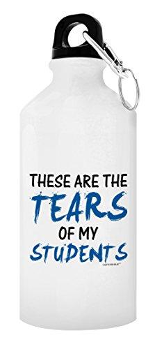 Teacher Gifts for Women Teacher Water Bottle Tears of My Students Best Teacher Gifts for Teachers Gift 20-oz Aluminum Water Bottle with Carabiner Clip Top Teacher