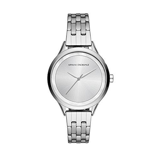 Armani Exchange Reloj Analogico para Mujer de Cuarzo con Correa en Acero Inoxidable AX5600