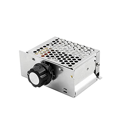 Micro Interruptor 4000W Regulador regulador de Voltaje Dimmers LED Motor AC 220V SCR Controlador de Velocidad Termostato electrónico Power Dimmer Module