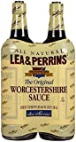 Lea & Perrins Worcestershire Sauce All Natural Kosher - (Pack of 2 Bottles - 20oz Each)