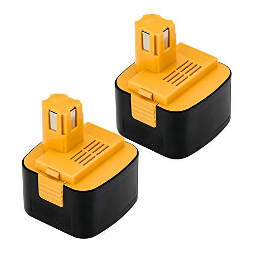 Moticett 互換改良版 ezt901 EZ9200 パナソニック互換バッテリー パナソニック12vバッテリー パナソニック12v 互換バッテリー3000mAh ezt901 2個セット EY9200 EZ9200 EZT901 EY9201 EZ9001対応 急速充電可能 ニッケル水素 電動工具電池