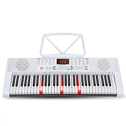 Find Discount Electronic Piano Toy, Intelligent Learning 61-key Electronic Music Keyboard With Micro...