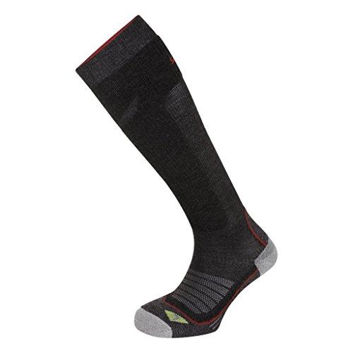 Salewa Trek Balance Knee SK - Chaussettes pour Homme, Couleur Gris, Taille 35-37