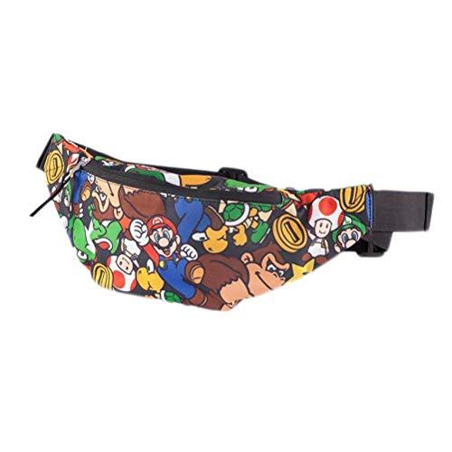 Nintendo - Super Mario AOP Waistbag Bauchtasche Hüfttasche