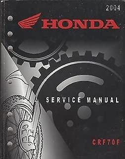 2004 HONDA MOTORCYCLE CRF70F SERVICE MANUAL
