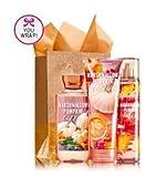 Bath & Body Works MARSHMALLOW PUMPKIN LATTE Fragrance Favorites Gift Kit ~ Shower Gel ~ Fragrance Mist & Body Cream