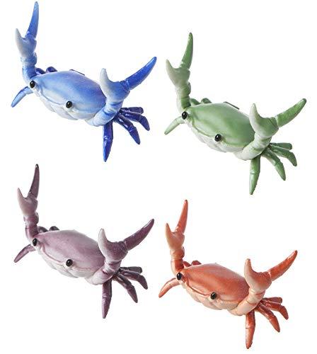 Nieuwe Japanse creatieve schattige krabben pennenhouder gewichtheffen krabben penhouder houder opslag rek cadeaupapier brillenframe lippenstift standaard make-up borstel display rek (E)