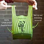 Earth Rated Easy-Tie Dog Poo Bags With Handles - 120 Extra Thick Poop Bags For Dogs   Each Unscented Doggy Waste Bag Measures 17x34cm   100% Leak-Proof Security 11
