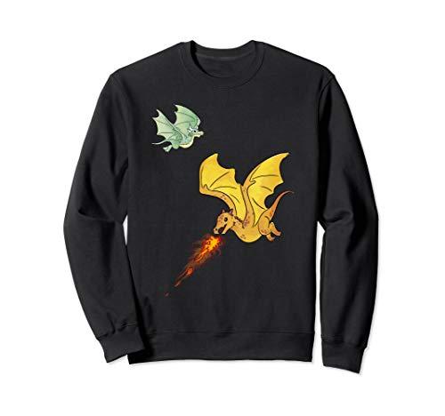 Fliegende Drachen & Feuer spuckende Fabelwesen Dragons Sweatshirt