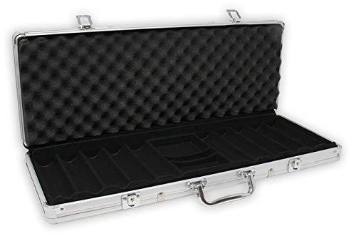 DA VINCI Aluminum 500 Chip Case