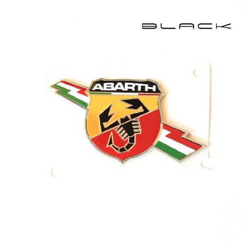 Black IT Laterale logo Abarth van metaal